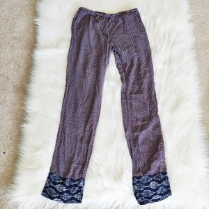 Roots Rayon Bohemian Style Pants